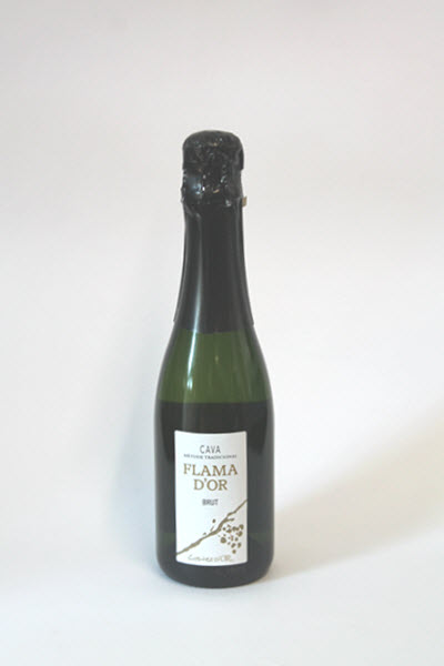 CAVA - FLAMA D'OR - Brut 1/2 flesje 375 ml.