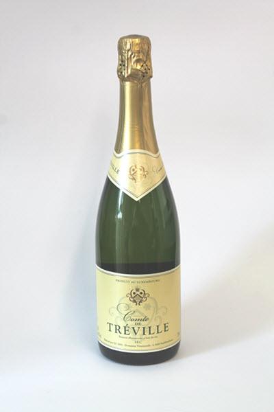 COMTE DE TREVILLE - Vin Mousseux Luxembourgeois - 8,5% vol.-sec