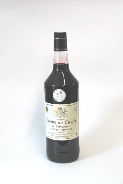 CREME DE CASSIS DE BOURGOGNE   (1 literfles) Jean Baptiste Joannet