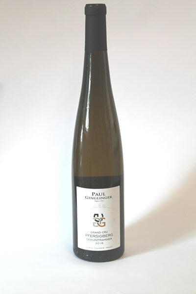 GEWURZTRAMINER GRAND CRU PFERSIGBERG - Domaine Paul Ginglinger