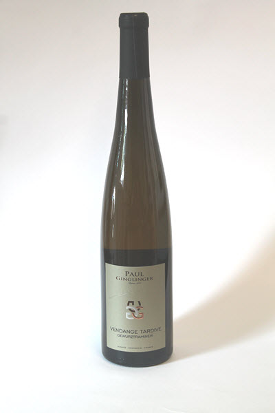 GEWURZTRAMINER VENDANGES TARDIVES - Domaine Paul Ginglinger
