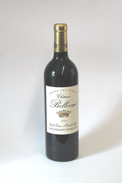 CHÂTEAU BELLEVUE - Saint Emilion 1er Grand Cru Classé 2015