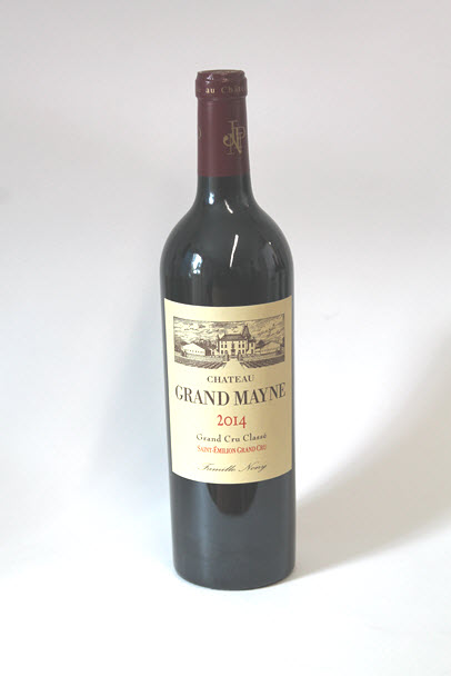 CHÂTEAU GRAND MAYNE - Saint Emilion Grand Cru Classé 2016