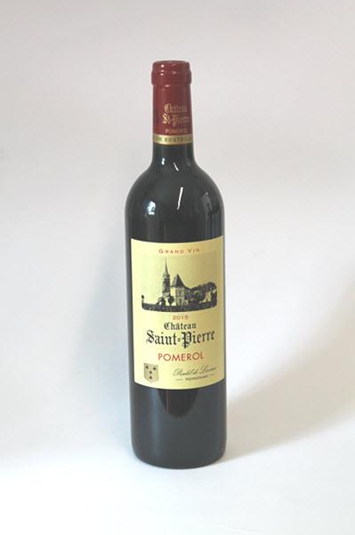CHÂTEAU SAINT PIERRE - Pomerol - H.K. 6 flessen / prijs per fles 2015