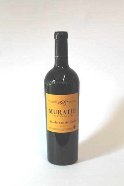 Rode wijn Muratie AnselaVanDeCaab Kovino DeWaseWingerd