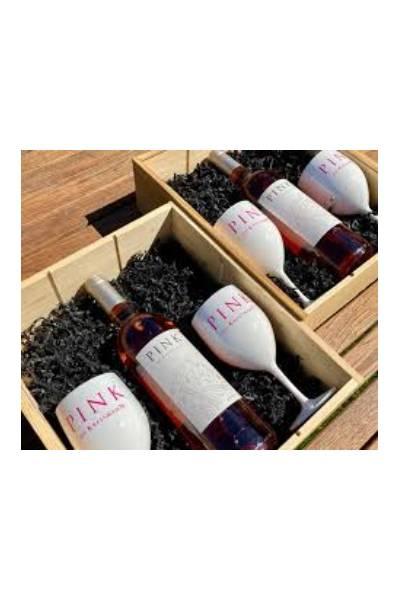 ACTIE PINK DE KRESSMANN - Bordeaux rosé  10 flessen + 2 bekers gratis