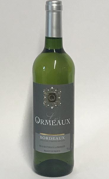 LES ORMEAUX - Bordeaux AOP - blanc sec